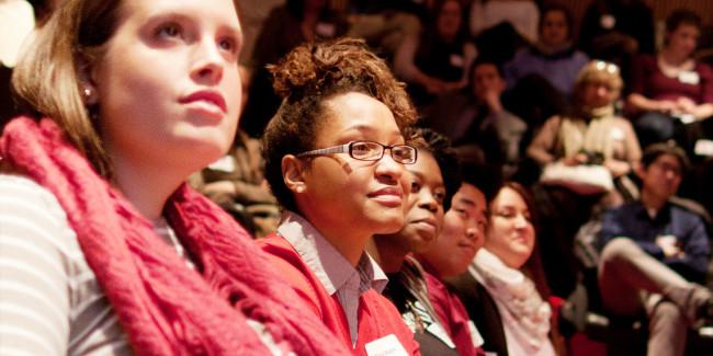 Participants at the Class Action 2014 1st-Gen Summit
