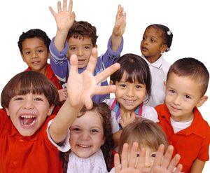 preschoolers wavying