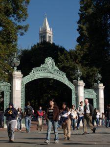 UC Berkeley gateway to campus