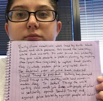 Jude Deibold is part of the #WhiteWorkingClassVsTrump Campaign