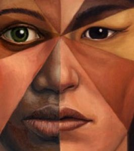 face of many races