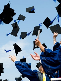 graduation-hats-thrown-in-the-air