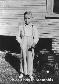 Elvis as a Boy in Memphis
