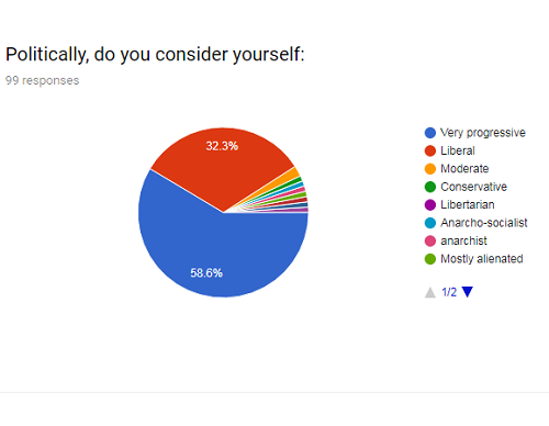Classism Exposed reader survey results on political views