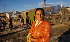 Roma woman in Spain living in poverty, as do many Roma facing classism and racism