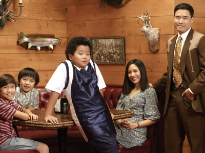 Cast of the sitcom Fresh Off the Boat