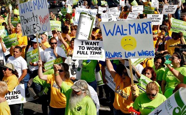 Walmart Protest